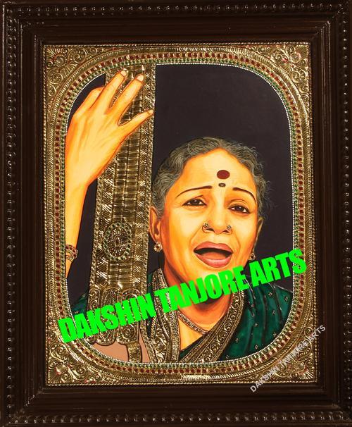 M.S.Subbulakshmi Painting
