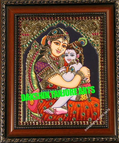 yashodha krishna Painting