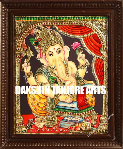 Writing Ganesha Painting