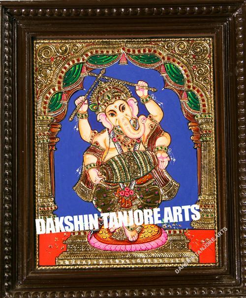 Dancing Ganesh with Tabala