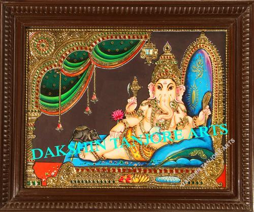 Darbar Vinayagar Painting