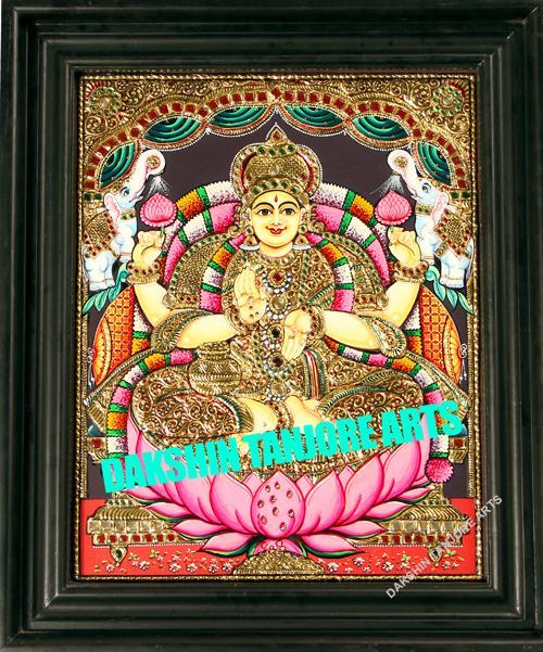 Goddess Lakshmi Painting