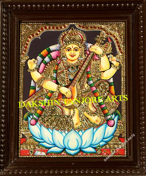 Goddess Saraswathi New Painting