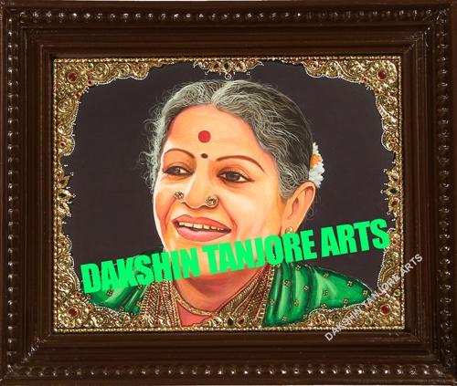 MS Subbulakshmi Potrait
